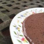 Sos kakaowy z nasion chia
