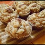 Muffiny z dzemem i kruszo...