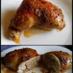 Udka kurczaka faszerowane...