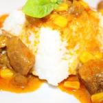 Indyk w sosie curry z cyn...