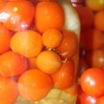 Marynowane pomidorki...