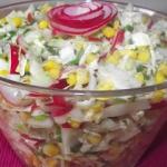 Szybka salatka do obiadu