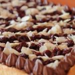 Mazurek czekoladowo wisni...