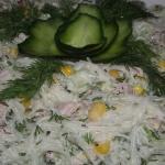 Lekka salatka z ryzowym m...