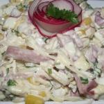 Salatka z selerem konserw...