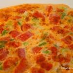 Omlet z pomidorami i szcz...