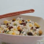Slodka salatka z bialym r...