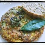 Frittata (omlet) z kwiata...