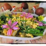 Szparagi mimoza przepis...