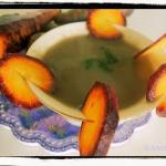 Zupa krem z fioletowej...