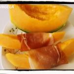 Melon z szynka po wlosku ...
