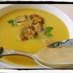 Zupa (krem) z pieczarek...