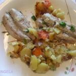 Makrela z warzywami/...