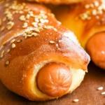 Hot dogi w cieście...