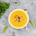 Zupa dyniowa z czerwona...