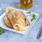 Omlet z szynka i serem