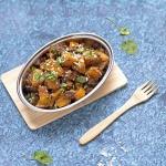 Curry z dyni z kokosem