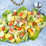 Karaibska salatka z mango...