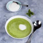 Letnia zupa z zielonego g...