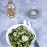 Salatka z zielonego ogork...