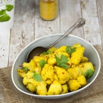 Curry z ziemniaków i...