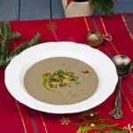 Kremowa zupa grzybowa z...