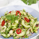 Tajska sałatka z ogórka