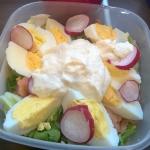 Lunch w pracy: sałatka...