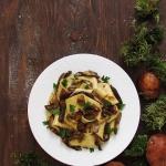 Pappardelle w sosie grzyb...