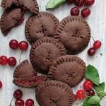 Kruche ciasteczka kakaowe...