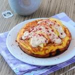Omlet z ricottą,...