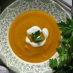 Kremowa zupa dyniowa z cu...