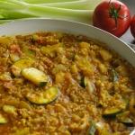 Warzywne kaszotto z curry...