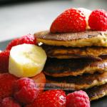 Pancakes owsiane z malina...