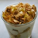 Jogurtowy deser z gruszka...