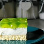 Ciasto  Zielono mi