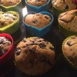 Muffiny z borowkami i cze...