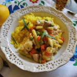 Ryz z indykiem i warzywam...