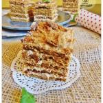 Ciasto Marlenka z masa kr...