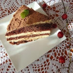 Świąteczny tort z...