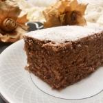 Puszyste ciasto czekolado...