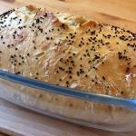 Pyszny chleb z garnka z c...