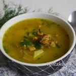 Zupa z kurczakiem,...