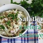 Chrupiaca salatka z seler...