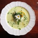 Zupa z bobem i fetą