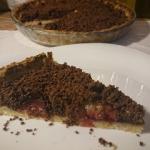 kakaowo śliwkowa tarta