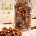 DOMOWA ORZECHOWA GRANOLA