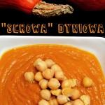 Serowa  zupa dyniowa