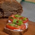 domowy chleb gryczany na...