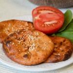 Pomidorowe placki z tofu